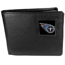 Siskiyou Buckle FBI185BX Tennessee Titans Leather Bi-fold Wallet