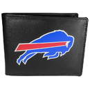 Siskiyou Buckle Buffalo Bills Bi-fold Wallet Large Logo, FBIL015