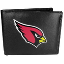 Siskiyou Buckle Arizona Cardinals Bi-fold Wallet Large Logo, FBIL035