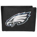 Siskiyou Buckle Philadelphia Eagles Bi-fold Wallet Large Logo, FBIL065
