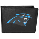 Siskiyou Buckle Carolina Panthers Bi-fold Wallet Large Logo, FBIL170