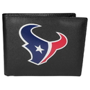 Siskiyou Buckle Houston Texans Bi-fold Wallet Large Logo, FBIL190