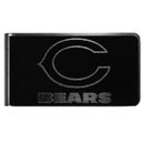 Siskiyou Buckle Chicago Bears Black and Steel Money Clip, FBKM005