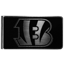 Siskiyou Buckle Cincinnati Bengals Black and Steel Money Clip, FBKM010