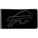 Siskiyou Buckle Buffalo Bills Black and Steel Money Clip, FBKM015