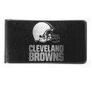 Siskiyou Buckle Cleveland Browns Black and Steel Money Clip, FBKM025