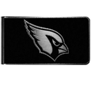Siskiyou Buckle Arizona Cardinals Black and Steel Money Clip, FBKM035