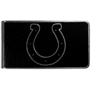 Siskiyou Buckle Indianapolis Colts Black and Steel Money Clip, FBKM050