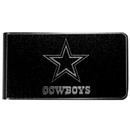 Siskiyou Buckle Dallas Cowboys Black and Steel Money Clip, FBKM055