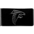Siskiyou Buckle Atlanta Falcons Black and Steel Money Clip, FBKM070