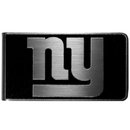 Siskiyou Buckle New York Giants Black and Steel Money Clip, FBKM090