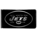 Siskiyou Buckle New York Jets Black and Steel Money Clip, FBKM100