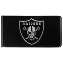 Siskiyou Buckle Oakland Raiders Black and Steel Money Clip, FBKM125
