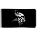 Siskiyou Buckle Minnesota Vikings Black and Steel Money Clip, FBKM165