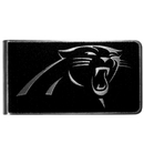 Siskiyou Buckle Carolina Panthers Black and Steel Money Clip, FBKM170