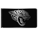 Siskiyou Buckle Jacksonville Jaguars Black and Steel Money Clip, FBKM175