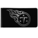 Siskiyou Buckle Tennessee Titans Black and Steel Money Clip, FBKM185