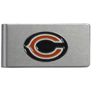Siskiyou Buckle FBMC005 Chicago Bears Brushed Metal Money Clip
