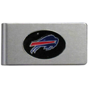 Siskiyou Buckle FBMC015 Buffalo Bills Brushed Metal Money Clip