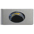 Siskiyou Buckle FBMC040 San Diego Chargers Brushed Metal Money Clip