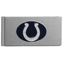 Siskiyou Buckle FBMC050 Indianapolis Colts Brushed Metal Money Clip