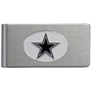Siskiyou Buckle FBMC055 Dallas Cowboys Brushed Metal Money Clip