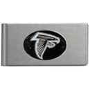 Siskiyou Buckle FBMC070 Atlanta Falcons Brushed Metal Money Clip