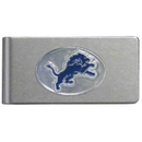 Siskiyou Buckle FBMC105 Detroit Lions Brushed Metal Money Clip