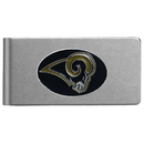Siskiyou Buckle FBMC130 St. Louis Rams Brushed Metal Money Clip