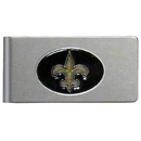 Siskiyou Buckle FBMC150 New Orleans Saints Brushed Metal Money Clip