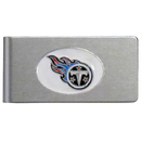 Siskiyou Buckle FBMC185 Tennessee Titans Brushed Metal Money Clip