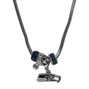 Siskiyou Buckle FBNK155 Seattle Seahawks Euro Bead Necklace