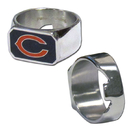 Siskiyou Buckle FBOR005-9 Chicago Bears Steel Ring
