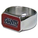 Siskiyou Buckle FBOR090-9 New York Giants Steel Ring