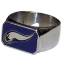 Siskiyou Buckle FBOR165-10 Minnesota Vikings Steel Ring
