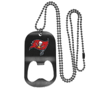 Siskiyou Buckle Tampa Bay Buccaneers Bottle Opener Tag Necklace, FBTN030