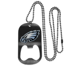 Siskiyou Buckle FBTN065 Philadelphia Eagles Bottle Opener Tag Necklace