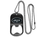 Siskiyou Buckle FBTN100 New York Jets Bottle Opener Tag Necklace