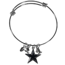 Siskiyou Buckle Dallas Cowboys Charm Bangle Bracelet, FCBB055