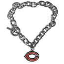 Siskiyou Buckle FCBR005 Chicago Bears Charm Chain Bracelet