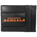 Siskiyou Buckle FCCP010 Cincinnati Bengals Logo Leather Cash and Cardholder