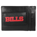 Siskiyou Buckle FCCP015 Buffalo Bills Logo Leather Cash and Cardholder