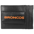 Siskiyou Buckle FCCP020 Denver Broncos Logo Leather Cash and Cardholder