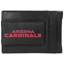Siskiyou Buckle FCCP035 Arizona Cardinals Logo Leather Cash and Cardholder