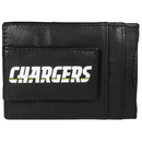 Siskiyou Buckle FCCP040 Los Angeles Chargers Logo Leather Cash and Cardholder