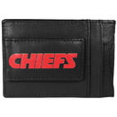 Siskiyou Buckle FCCP045 Kansas City Chiefs Logo Leather Cash and Cardholder