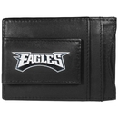 Siskiyou Buckle FCCP065 Philadelphia Eagles Logo Leather Cash and Cardholder