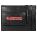 Siskiyou Buckle FCCP075 San Francisco 49ers Logo Leather Cash and Cardholder