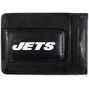 Siskiyou Buckle FCCP100 New York Jets Logo Leather Cash and Cardholder