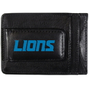 Siskiyou Buckle FCCP105 Detroit Lions Logo Leather Cash and Cardholder